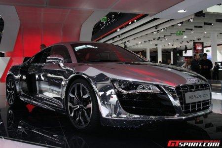 Audi R8 Chrome
