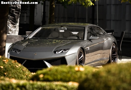 Lamborghini Estoque Concept in Cologne 01