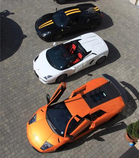 Lamborghini LP670 SV, LP560 Spider & Ferrari 430 Scuderia