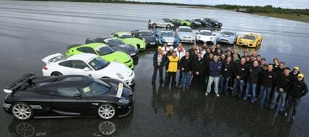 Sport Auto Super Car Performance Test 2009
