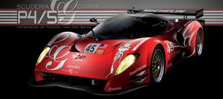 Glickenhaus Ferrari P45 Competizione Project
