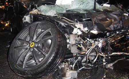 F430 Scuderia Crash