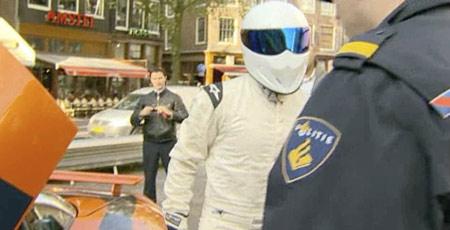 The Stig in Amsterdam City Centre