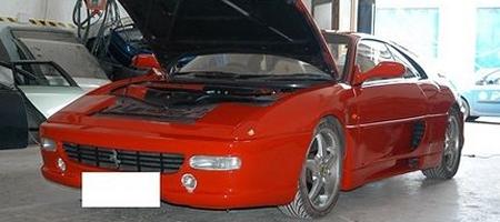 Faked in the UK Ferrari 355 Berlinetta berlinetta