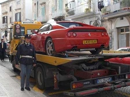 Faked in the UK Ferrari 355 Berlinetta 02