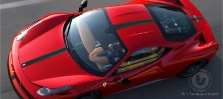 Render Ferrari 458 Italia Scuderia