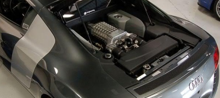 Supercharged Audi R8 by VF Engineering