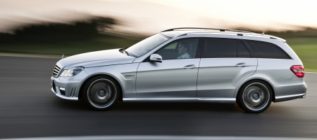 Video Mercedes E63 AMG E Class Estate