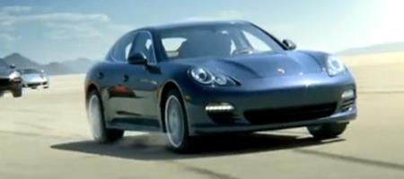 Video Porsche Panamera Commercial
