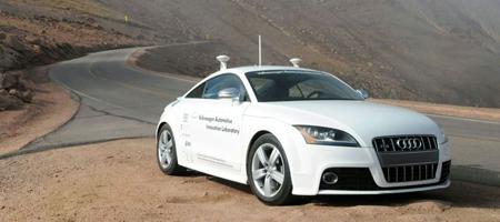 Audi Pikes Peak Autonomous TT-S