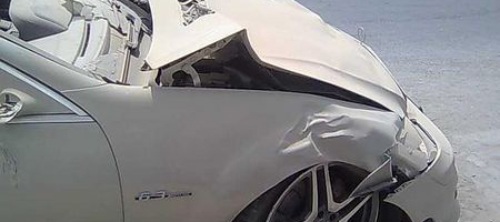 Car Crash: Mercedes-Benz S63 AMG