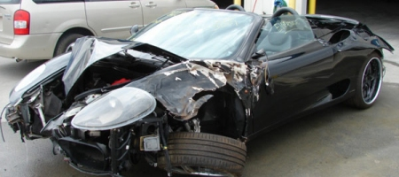 Car Crashes 73 Year Old Destroys Ten Exotic Cars in Three Years