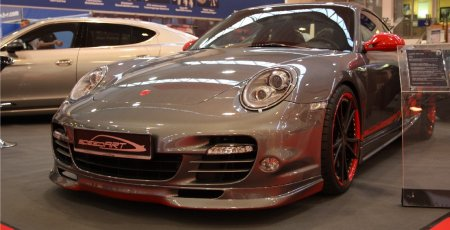 Essen 2009 SpeedArt 997 Turbo based BTR III 580