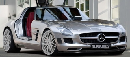 First Picture SLS AMG by Brabus