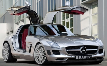 First Picture SLS AMG by Brabus 01
