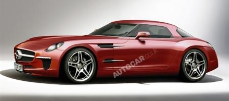 Mercedes Baby SLS AMG Rendering