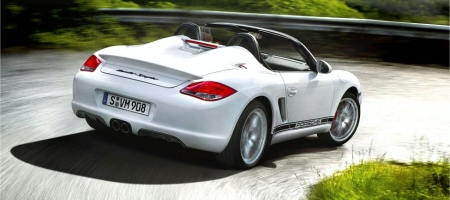 New Photos Porsche Boxster Spyder