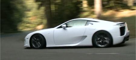 Video Lexus LF-a First Drive by Inside Line