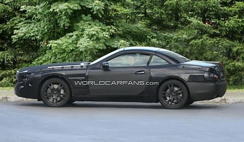 2013 Mercedes SL-Class Spyshots