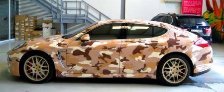 Camouflage Porsche Panamera Turbo