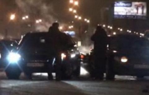 Car Crash Bentley Continental Hits Maybach 62 02