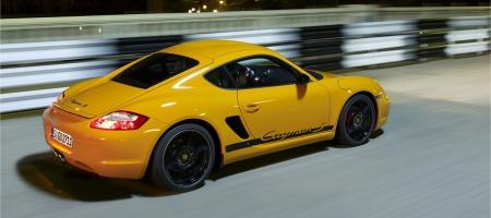 Release of Porsche Cayman Club Sport in 2010