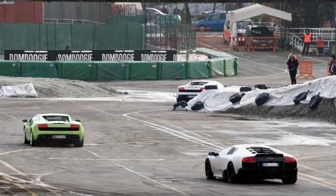 Video Lamborghini on Track at Bologna Motor Show 2009 480x280