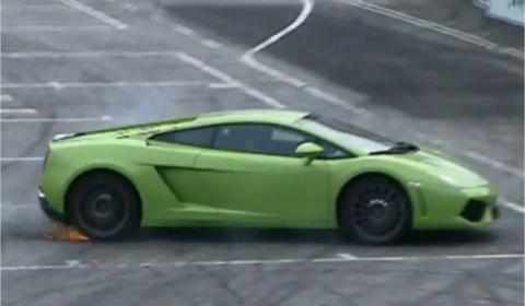Valentino Balboni Drifting a LP550-2 480x280