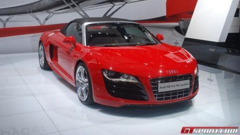 Audi R8 V10 Brussels
