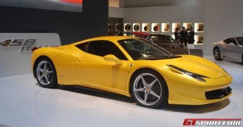 Ferrari 458 Brussels