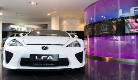 Lexus LF-A Buyers Hand-picked in the US 480x280