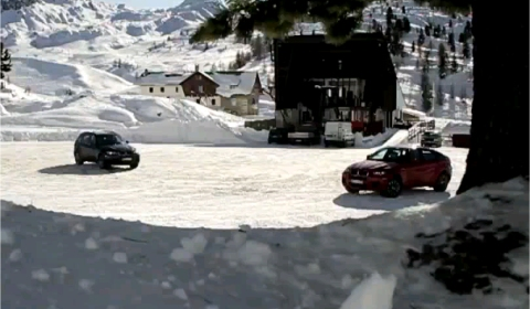 Video: BMW X5M & X6M in the Snow 480x280