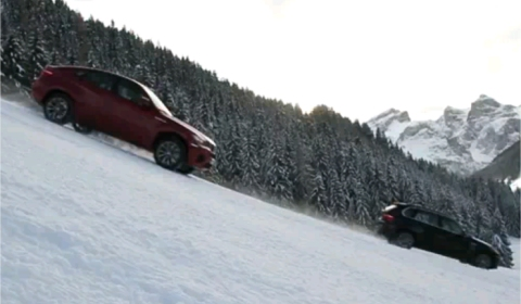 Video BMW X5M & X6M in the Snow - Chapter 2 480x280