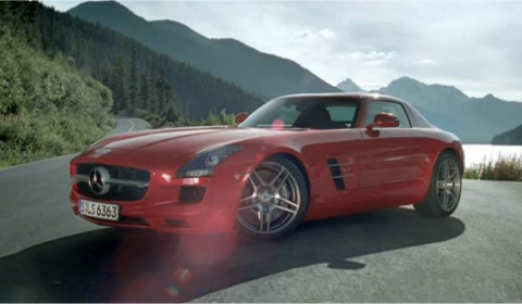 Video Mercedes SLS AMG Upside Down in Tunnel 480x280
