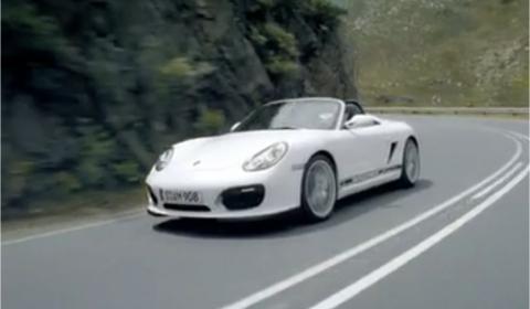 Video Porsche Boxster Spyder Official Trailer 480x280