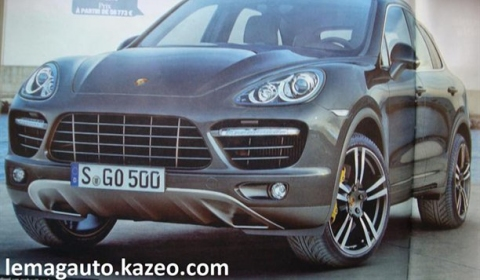 2011 Porsche Cayenne Scans Leak Out
