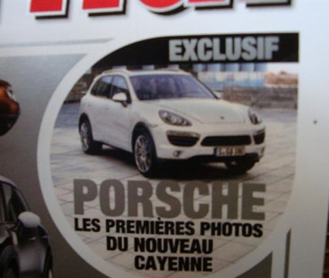 2011 Porsche Cayenne Scans Leak Out 01