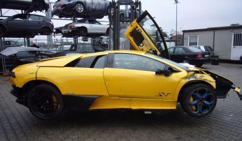 3rd Lamborghini LP670-4 SV Crash