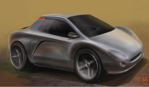 AC Cars Magnesium Chassis Prototype