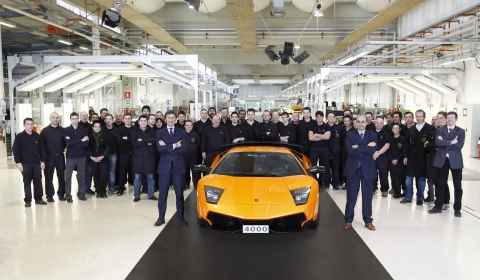 Lamborghini Reaches 4,000 Murciélago Milestone