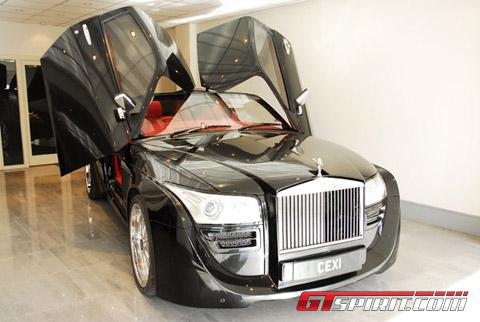 Rolls Royce Black Ruby