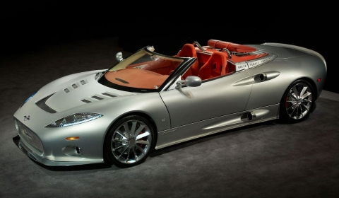 Spyker Starts Production C8 Aileron in UK