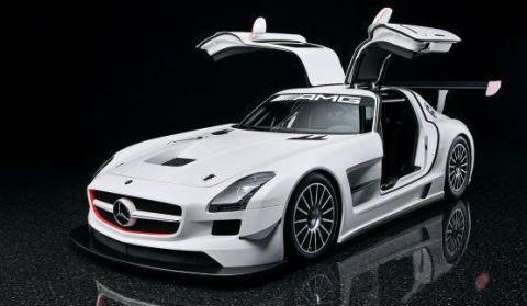 Video Mercedes-Benz SLS AMG GT3 Walkaround