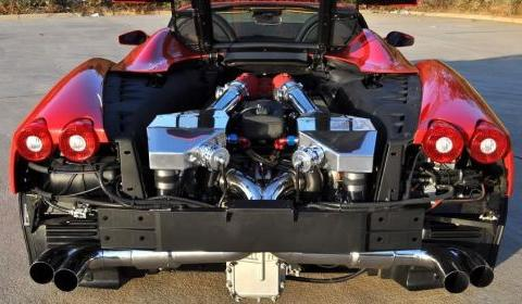 Underground Racing Twin Turbo Ferrari F430