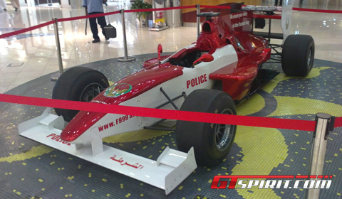 Abu Dhabi Police Force F1 Racer