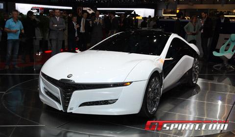 Alfa Romeo Concept Cars on To The Geneva Motor Show With A Beautiful Alfa Romeo Concept Car