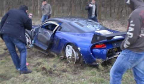 Car Crash 9ff GT9-R at Vmax Armageddon