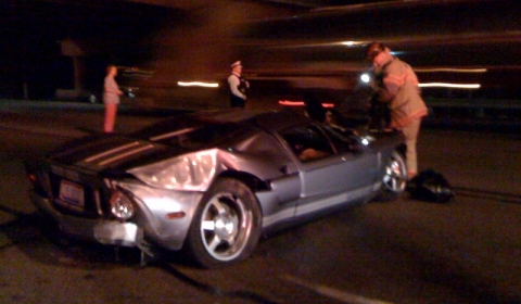 Car Crash Ford GT in Ohio US