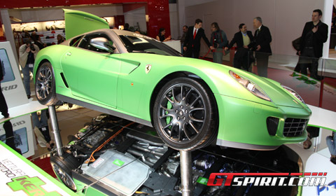 2010 Ferrari 599 Gtb Hy Kers Concept. Ferrari 599 GTB HY-KERS
