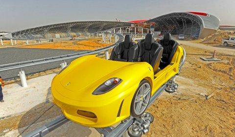 Ferrari World Abu Dhabi Theme Park Update 01